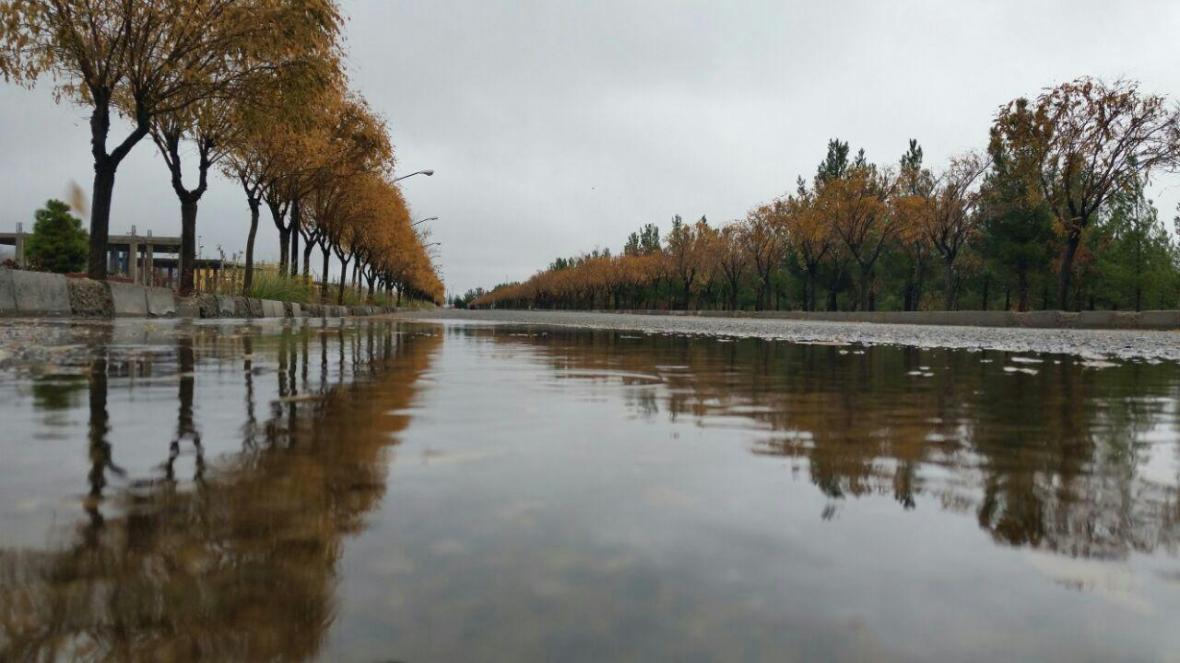 جمع آوری آب های سطحی در دانشگاه حکیم سبزواری