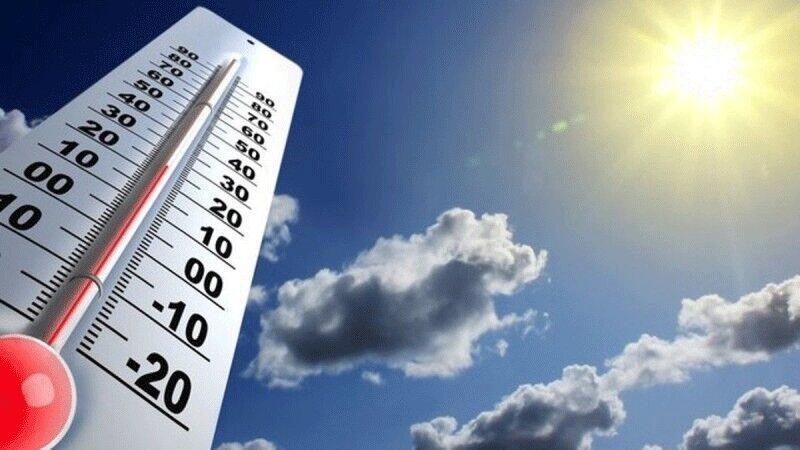 روند نسبی افزایش دما در نیمه شمالی ایران