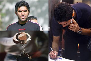 دستگیری یک فوتبالیست و سکته کاپیتان تیم ملی، 54 ضربه شلاق برای عابدزاده