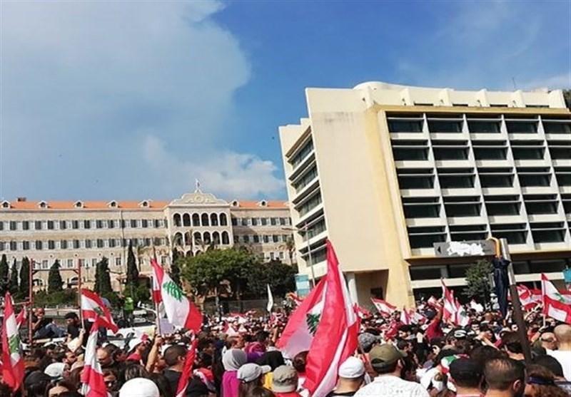 تظاهرات در لبنان ادامه دارد