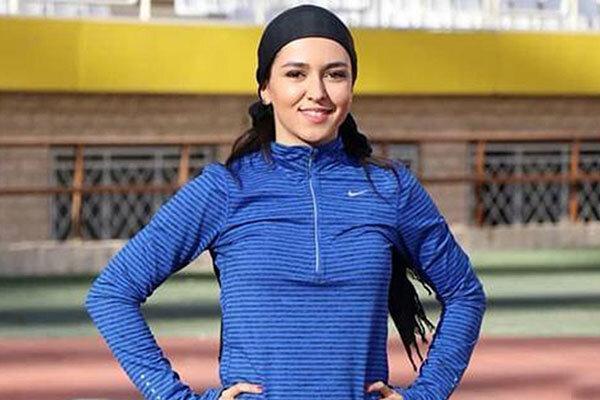 سریع ترین دونده زن ایران در پارتیزان
