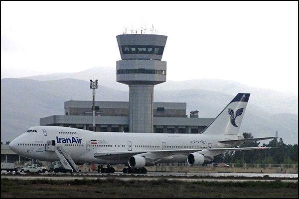 پرواز های دوشنبه 20 آبانماه 98 فرودگاه شیراز