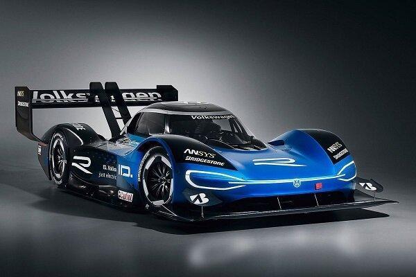 فولکس واگن خودروی مسابقه ای برقی فراوری کرد