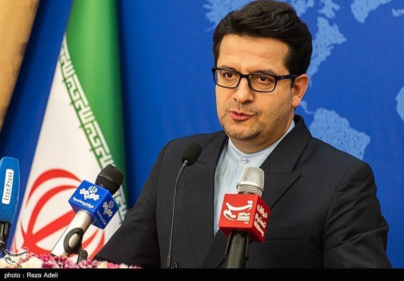 موسوی: بیانیه وزارت خارجه فرانسه در مورد یک تبعه ایرانی اقدامی مداخله جویانه است