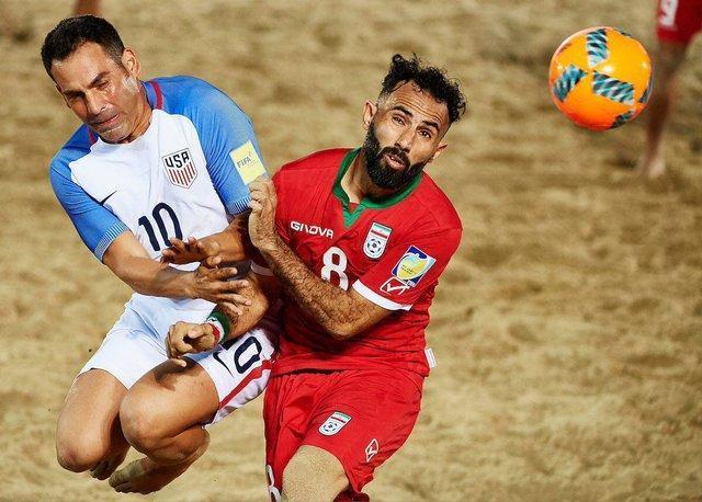 تیم ملی فوتبال ساحلی ایران در رده پنجم دنیا