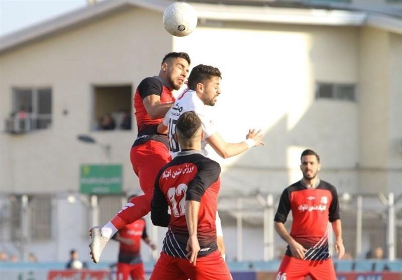 لیگ برتر فوتبال، پیروزی یک نیمه ای نساجی مقابل ماشین سازی
