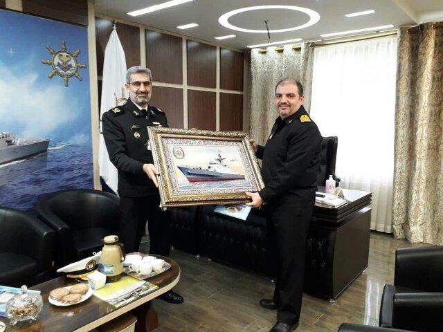تقدیر از مدافعان سلامت در فرماندهی آموزش تخصص های دریایی رشت