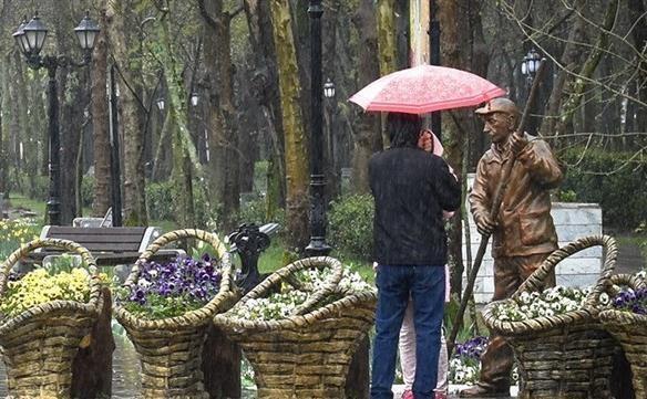 ورود 2 سامانه بارشی به ایران، بارش ها تا روز سه شنبه ادامه می یابند