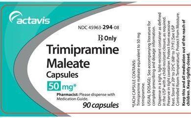 تریمیپرامین؛ موارد مصرف، عوارض جانبی