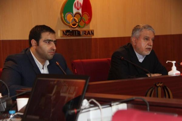 برگزاری جلسه هیات رییسه بدنسازی با حضور صالحی امیری و رییس فدراسیون جهانی