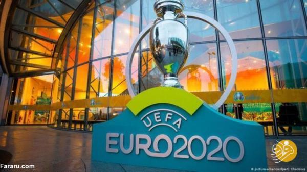 برنامه کامل و ساعت برگزاری بازی های یورو 2020 به وقت ایران