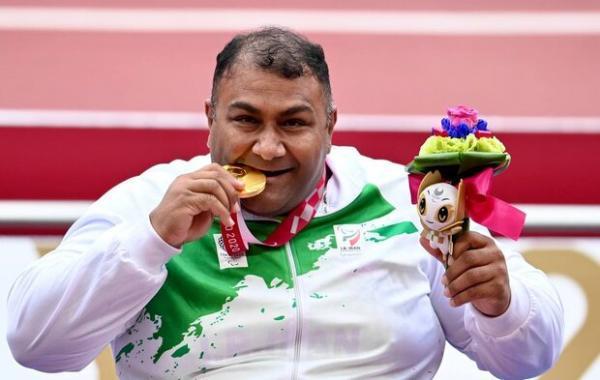 حامد امیری با رکوردشکنی طلایی شد، دهمین مدال طلا برای ایران